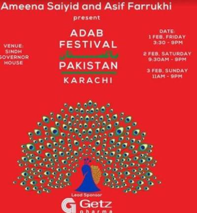 First Adab Festival 2019 starts in Karachi