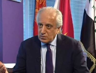Zalmay Khalilzad seeks peace deal in Taliban talks before Afghan elections