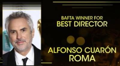 Netflix's 'Roma' wins Bafta glory