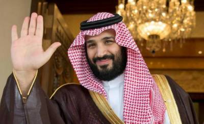 Saudi crown prince's plane lands at Noor Khan Air Base