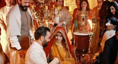 Model Iman Ali's wedding in Pics & videos