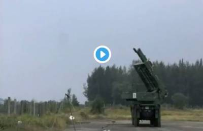 India test-fires two Quick Reaction Surface-to-Air missiles