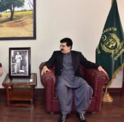 Sanjrani writes OIC for withdrawal of invitation to Indian FM