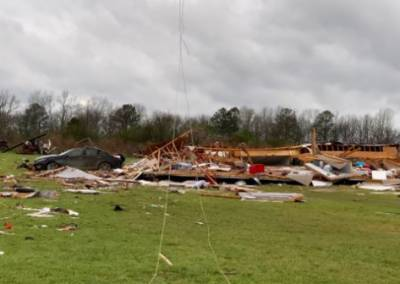 Watch: 23 dead after tornadoes touch down in US state of Alabama