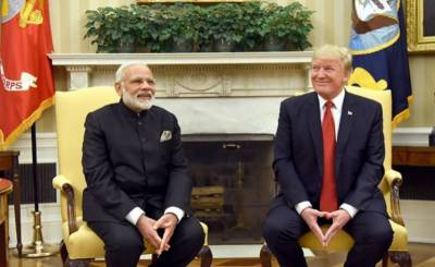 Trump writes Congress to end special trade treatment for India