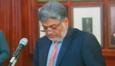 Syed Sumsam Ali Bukhari sworn in as Punjab Information minister