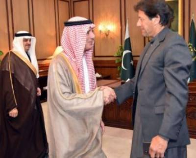 Saudi FM conveys Crown Prince's special message to PM Imran