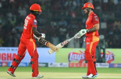 PSL4: Islamabad United set 239-run target for Lahore Qalandars