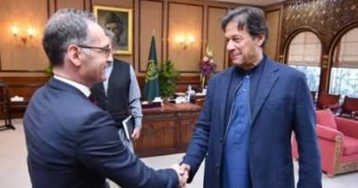 German FM Heiko Maas calls on PM Imran in Islamabad
