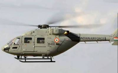 Indian air defence mistakenly shot down its IAF Mi-17 helicopter