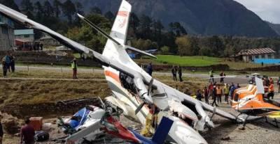 Three killed in Nepal plane crash near Mount Everest
