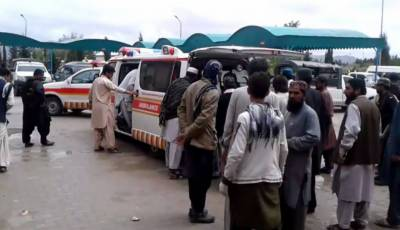 At least 11 killed in Mastung truck-van collision