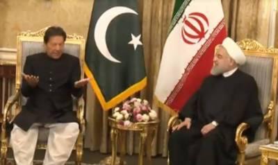 PM Imran Khan, Iranian President Hassan Rouhani discuss bilateral relations
