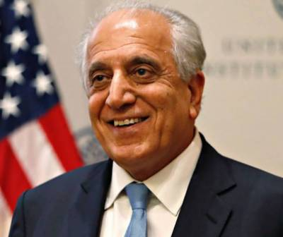 Khalilzad, Alice Wells in Pakistan for talks on Afghan peace process