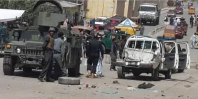 Taliban suicide bomber leads attack on Afghan police HQ