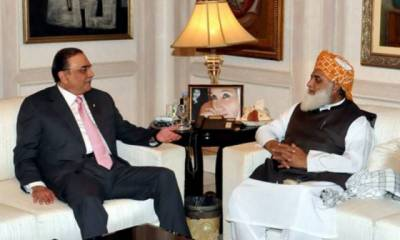 Asif Zardari, Maulana Fazlur Rehman discuss joint strategy against government