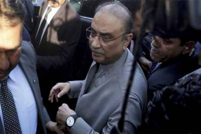 Chairman NAB doesn't have right to give an interview: Zardari