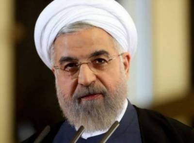 Iranian President Rouhani rejects talks with US