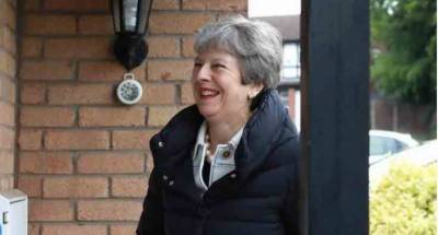 May likely to announce date of her departure today