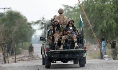 Soldier martyred in attack on Pak Army vehicle in North Waziristan: ISPR