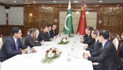 PM Imran meets Chinese President Xi on sidelines of SCO summit in Kyrgyzstan