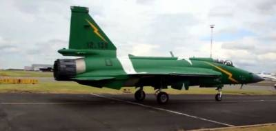 PAF JF-17 Thunder starts practice drills in France for Paris Air Show