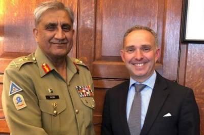 COAS Bajwa, UK NSA Mark Sedwill discuss Afghan peace process