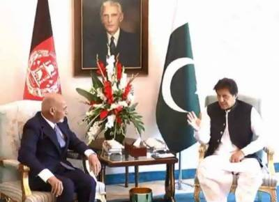 PM Imran, Afghan President Ghani discuss bilateral ties, regional situation