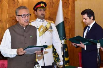 Barrister Hammad Azhar sworn in as federal minister