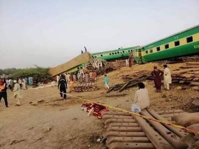 Sadiqabad train collision death toll rises to 24