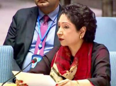 Maleeha Lodhi presents Pakistan's letter to UNSC
