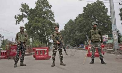 Curfew enters 16th day in Occupied Kashmir