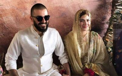 Hamza Ali Abbasi ties the knot with Naimal Khawar