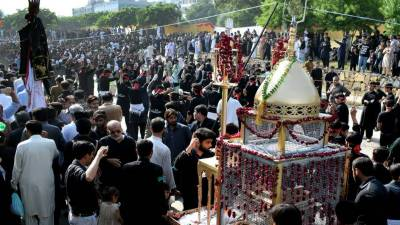 9th Muharram processions being held across country amid tight security