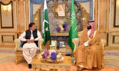 PM Imran calls on Saudi Crown Prince, apprises of dire situation in IOK