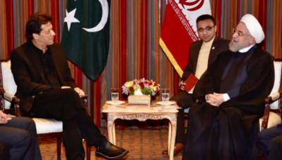 PM Imran, Iranian President Rouhani discuss bilateral ties
