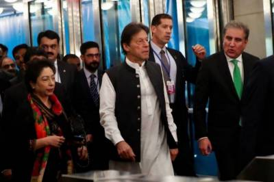 Airplane carrying PM Imran returns to New York due to technical fault