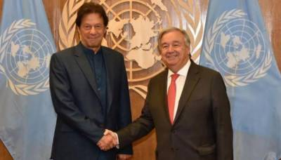 PM Imran meets UN chief Guterres, IOK situation discussed