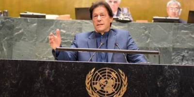 PM Imran warns of 'bloodbath' in Indian Occupied Kashmir, urges UN to intervene