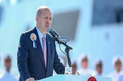 Turkey starts construction of naval warship for Pakistan