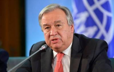 UN chief reiterates concern over humanitarian crisis in IOK