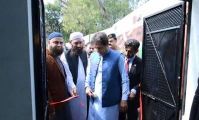 PM Imran inaugurates Ehsaas-Saylani Langar Scheme in Islamabad