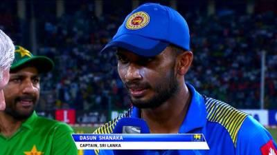Second T20I: Sri Lanka bat first against Pakistan