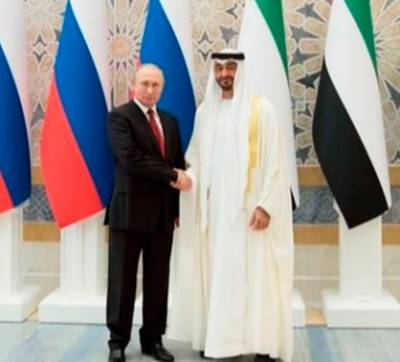 Russian President Putin in UAE on first visit since 2007