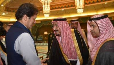 Saudi leadership hails PM Imran's efforts to de-escalate Gulf tensions