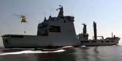 Pak-Indonesian joint naval drill 'Sea Thunder IV' concludes
