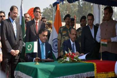 Pakistan, India sign Kartarpur Corridor agreement