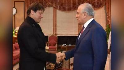 PM Imran, Us envoy Khalilzad discuss Afghan peace and reconciliation process