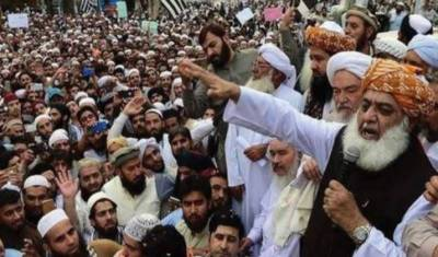 JUI-F's 'Azadi March' continues in Islamabad
