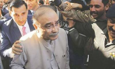 Plea seeking Zardari's transfer to Karachi dismissed